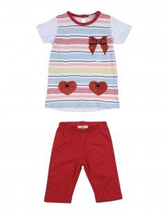 SILVIAN HEACH KIDS Mädchen 0-24 monate Set Farbe Rot Größe 5