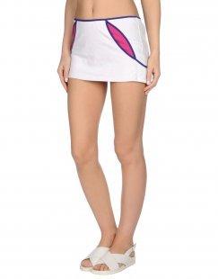 FRANKIE MORELLO SEXYWEAR Damen Strandkleid Farbe Weiß Größe 5