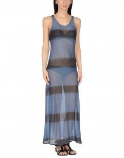 LES COPAINS BEACHWEAR Damen Strandkleid Farbe Dunkelblau Größe 6