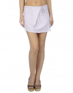 BLUGIRL BLUMARINE BEACHWEAR Damen Strandkleid Farbe Lila Größe 4