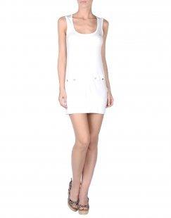 BALLANTYNE BEACHWEAR Damen Strandkleid Farbe Weiß Größe 6