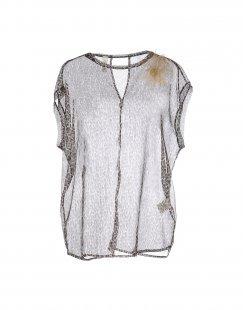 SOUVENIR Damen Bluse Farbe Schwarz Größe 5