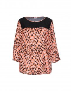JACQUELINE de YONG Damen Bluse Farbe Orange Größe 4