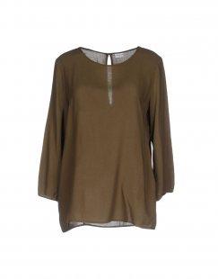 JACQUELINE de YONG Damen Bluse Farbe Militärgrün Größe 5