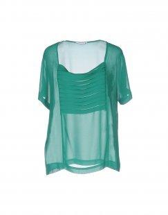 BIANCOGHIACCIO Damen Bluse Farbe Grün Größe 4