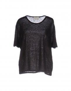 JACQUELINE de YONG Damen Bluse Farbe Dunkelblau Größe 4