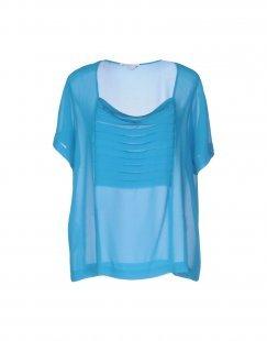 BIANCOGHIACCIO Damen Bluse Farbe Tūrkis Größe 4