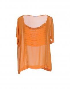 BIANCOGHIACCIO Damen Bluse Farbe Orange Größe 7