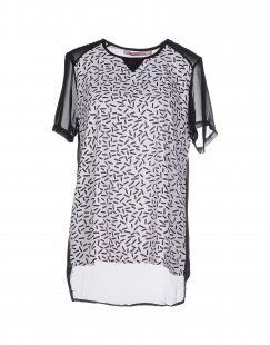 SH by SILVIAN HEACH Damen Bluse Farbe Weiß Größe 3