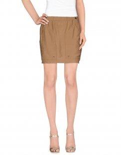 LE FULL Damen Minirock Farbe Khaki Größe 6