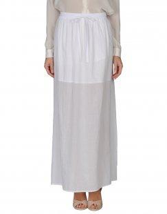 STEFANEL Damen Maxirock Farbe Weiß Größe 5