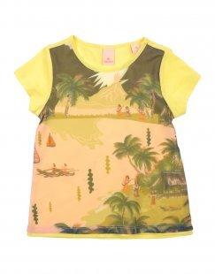 SCOTCH R´BELLE Mädchen 3-8 jahre T-shirts Farbe Gelb Größe 2