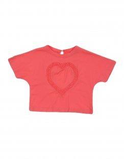 EUROPEAN CULTURE Mädchen 3-8 jahre T-shirts Farbe Koralle Größe 6