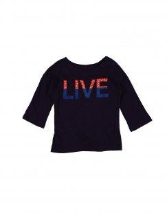 BELLEROSE Mädchen 3-8 jahre T-shirts Farbe Violett Größe 2