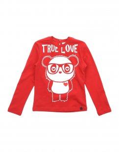 SO TWEE by MISS GRANT Mädchen 3-8 jahre T-shirts Farbe Rot Größe 4
