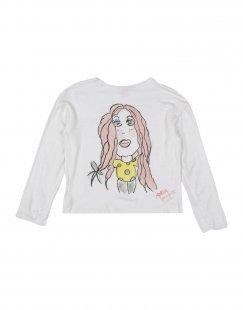 AMELIA Mädchen 3-8 jahre T-shirts Farbe Weiß Größe 2
