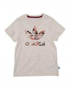 ADIDAS ORIGINALS Mädchen 3-8 jahre T-shirts Farbe Elfenbein Größe 2