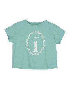 DOUUOD Mädchen 3-8 jahre T-shirts Farbe Tūrkis Größe 2