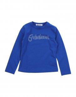 GAIALUNA Mädchen 3-8 jahre T-shirts Farbe Blau Größe 3