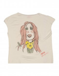 AMELIA Mädchen 3-8 jahre T-shirts Farbe Weiß Größe 1