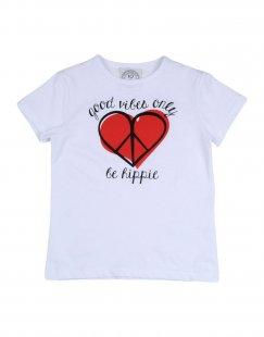 10X10 ANITALIANTHEORY Mädchen 3-8 jahre T-shirts Farbe Weiß Größe 2