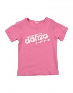 DIMENSIONE DANZA SISTERS Mädchen 3-8 jahre T-shirts Farbe Fuchsia Größe 1