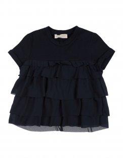 QUIS QUIS Mädchen 3-8 jahre T-shirts Farbe Dunkelblau Größe 6