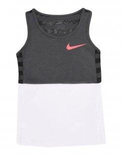 NIKE Mädchen 3-8 jahre T-shirts Farbe Grau Größe 6
