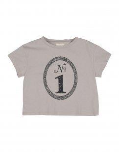 DOUUOD Mädchen 3-8 jahre T-shirts Farbe Hellgrau Größe 2