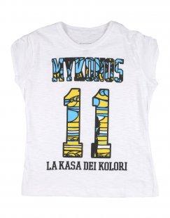 LA KASA DEI KOLORI Mädchen 3-8 jahre T-shirts Farbe Weiß Größe 5