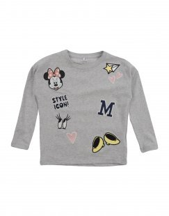 NAME IT® Mädchen 3-8 jahre T-shirts Farbe Hellgrau Größe 5