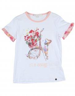 SILVIAN HEACH KIDS Mädchen 3-8 jahre T-shirts Farbe Weiß Größe 3