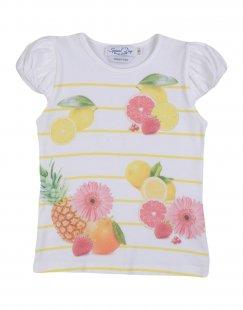 SPECIAL DAY Mädchen 3-8 jahre T-shirts Farbe Weiß Größe 3