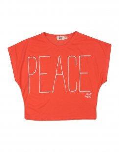MINI MOLLY Mädchen 3-8 jahre T-shirts Farbe Koralle Größe 2