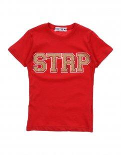 START UP Mädchen 3-8 jahre T-shirts Farbe Rot Größe 2