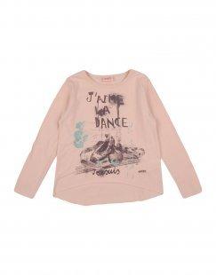 DIMENSIONE DANZA SISTERS Mädchen 3-8 jahre T-shirts Farbe Nude Größe 4