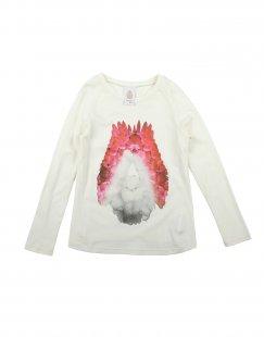 DONDUP DQUEEN Mädchen 3-8 jahre T-shirts Farbe Elfenbein Größe 6