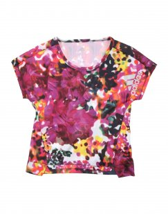 ADIDAS Mädchen 3-8 jahre T-shirts Farbe Violett Größe 1