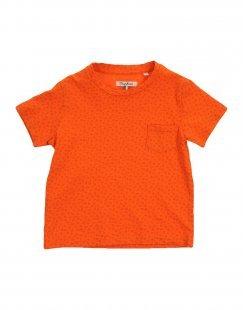 NUPKEET Mädchen 3-8 jahre T-shirts Farbe Orange Größe 2