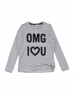 NAME IT® Mädchen 3-8 jahre T-shirts Farbe Elfenbein Größe 5