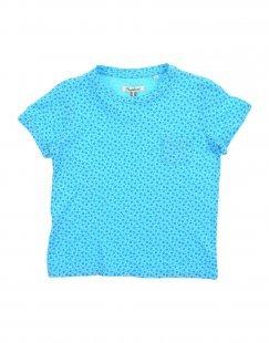 NUPKEET Mädchen 3-8 jahre T-shirts Farbe Himmelblau Größe 6