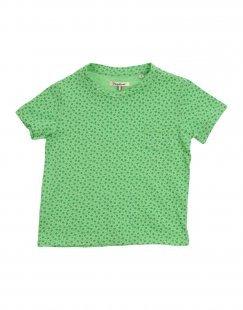 NUPKEET Mädchen 3-8 jahre T-shirts Farbe Grün Größe 6
