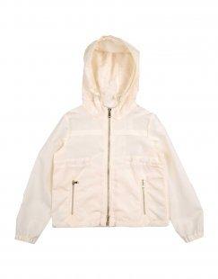 MIMISOL Mädchen 0-24 monate Jacke Farbe Elfenbein Größe 4