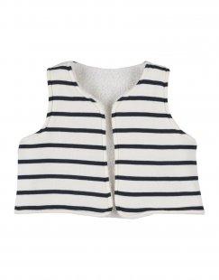 PETIT BATEAU Mädchen 0-24 monate Jacke Farbe Weiß Größe 8