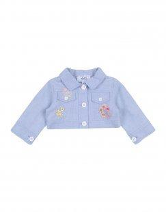 ALETTA Mädchen 0-24 monate Jacke Farbe Himmelblau Größe 2