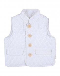 IL GUFO Mädchen 0-24 monate Jacke Farbe Weiß Größe 4