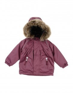 PLAYTECH by NAME IT® Mädchen 0-24 monate Jacke Farbe Pflaume Größe 10