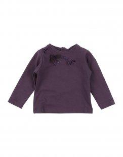 LILI GAUFRETTE Mädchen 0-24 monate T-shirts Farbe Violett Größe 4