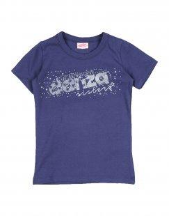 DIMENSIONE DANZA SISTERS Mädchen 0-24 monate T-shirts Farbe Dunkelblau Größe 10