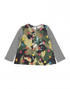 DIESEL Mädchen 0-24 monate T-shirts Farbe Militärgrün Größe 11